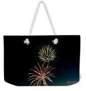 Double Fireworks Blast Weekender Tote Bag
