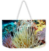 Double Giant Anemone And Arrow Crab Weekender Tote Bag