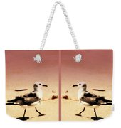 Double Gulls Collage Weekender Tote Bag