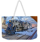 Double Header Nevada Northern Railway #1 Weekender Tote Bag