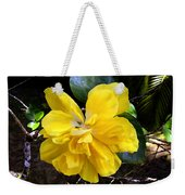 Double Hibiscus Costa Rica Weekender Tote Bag