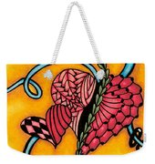 Double Ring Hearts Weekender Tote Bag