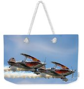 Double Iron Eagles Weekender Tote Bag