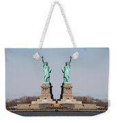 Double Libertys Weekender Tote Bag