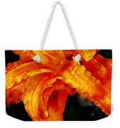 Double Petaled Lilly Weekender Tote Bag
