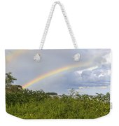 Double Rainbow Sheffield Island Weekender Tote Bag