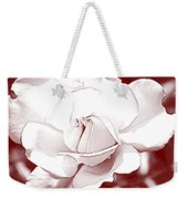 Double Rose Sweet Weekender Tote Bag
