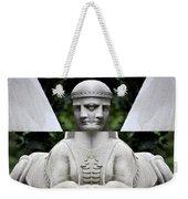 Double Sphinx Weekender Tote Bag