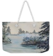 Double The View Weekender Tote Bag