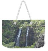 Double Waterfall Weekender Tote Bag