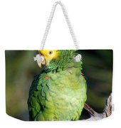 Double Yellow Headed Parrot Weekender Tote Bag