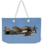 Douglas Ad-4 Skyraider Weekender Tote Bag