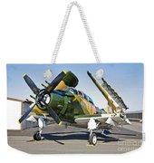 Douglas Ad-5 Skyraider Attack Aircraft Weekender Tote Bag