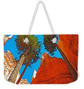 Douglas Firs On Wall Street On Navajo Trail In Bryce Canyon National Park-utah Weekender Tote Bag