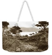 Douglas School For Girls At Lone Cypress Tree Pebble Beach 1932 Weekender Tote Bag