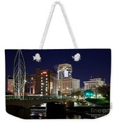 Douglas Street Bridge In Wichita Weekender Tote Bag