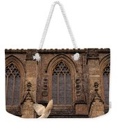 Dove Flying By Church Weekender Tote Bag
