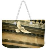 Dove In Flight Weekender Tote Bag