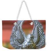 Garden Dove Of Peace Sculpture Weekender Tote Bag