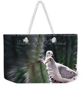 Love Doves Weekender Tote Bag