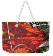 Down But Not Out Weekender Tote Bag