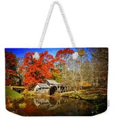 Down By The Old Mill Stream  Weekender Tote Bag by Lynn Bauer