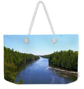 Down River Weekender Tote Bag