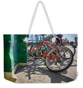 Down Spout And Bikes Weekender Tote Bag