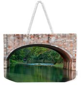 Down Stream Weekender Tote Bag