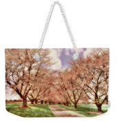 Down The Cherry Lined Lane Weekender Tote Bag