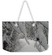 Down The Lane Weekender Tote Bag