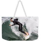 Down The Wave Slope Weekender Tote Bag