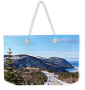 Down To The Sea - Oceanview - Hillview Weekender Tote Bag