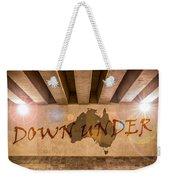 Down Under Map  Weekender Tote Bag