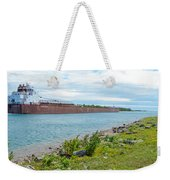 Downbound At Mission Point 3 Weekender Tote Bag