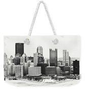 Cold Winter Day In Pittsburgh Pennsylvania Weekender Tote Bag