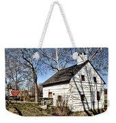 Downingtown Log House 1701 Weekender Tote Bag