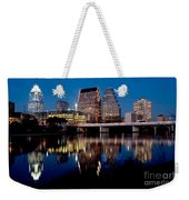 Downtown At Dusk Weekender Tote Bag
