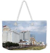 Downtown Atlantic City New Jersey Weekender Tote Bag