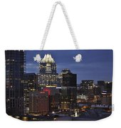 Downtown Austin 3 Weekender Tote Bag