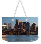 Downtown Boston Skyline Weekender Tote Bag