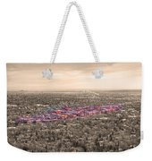 Boulder Colorado  Twenty-five Square Miles Surrounded By Reality Weekender Tote Bag