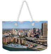 Downtown Buffalo Skyline Weekender Tote Bag