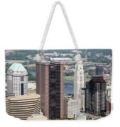 Downtown Columbus Weekender Tote Bag