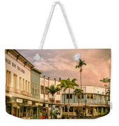 Downtown Hilo Sunday Morning Weekender Tote Bag