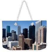 Downtown Houston Texas Weekender Tote Bag