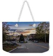 Downtown Ipswich Sunset Weekender Tote Bag
