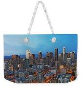 Downtown Los Angeles Weekender Tote Bag by Kelley King