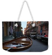 Downtown Manarola Weekender Tote Bag