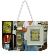 Downtown Marketplace Show Weekender Tote Bag